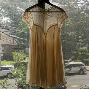 A lace dress